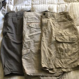 Other - Lot of men's tan/brown cargo shorts
